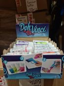 PALLET TO CONTAIN 840 x NEW SEALED PLAY-DOH DOH-VINCHI DOUGH IN VARIOUS COLOURS. RRP £3.50 EACH