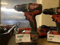 Milwaukee Brushless M18 CBLPD-0X Drill and Screwdriver CBLPD-0X. COMES WITH BATTERY & CHARGER.