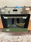 Zanussi, ZOB343X, Built In Single Oven