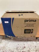 Prima LCTM251 Frameless B/I Microwave & Grill – St/Steel