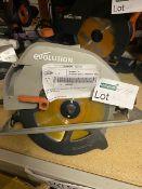 EVOLUTION R185CCSL240 1200W 185MM ELECTRIC CIRCULAR SAW 220-240V (UNCHECKED)