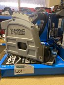 MAC ALLISTER MSPS1200 165MM ELECTRIC PLUNGE SAW 220-240V COMES WITH BOX (UNCHECKED)