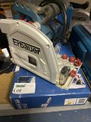 ERBAUER ERB690CSW 185MM ELECTRIC PLUNGE SAW 240V COMES WITH BOX (UNCHECKED)