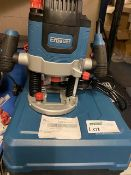 ERBAUER ER2100 2100W ELECTRIC ROUTER 220-240V COMES WITH CARRY CASE (UNCHECKED)