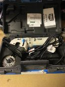 MAC ALLISTER MSMCS500 500W 76MM ELECTRIC MINI SAW 220-240V COMES WITH CARRY CASE (UNCHECKED)