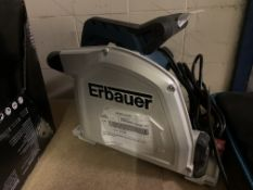 ERBAUER ERB690CSW 185MM ELECTRIC PLUNGE SAW 240V (UNCHECKED)