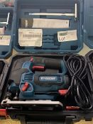 ERBAUER EJS750 750W ELECTRIC JIGSAW 220-240V COMES WITH ACCESSORIES AND CARRY CASE (UNCHECKED)