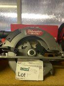 MILWAUKEE M18 CCS66-0 FUEL 190MM 18V LI-ION BRUSHLESS CORDLESS CIRCULAR SAW COMES WITH BOX (