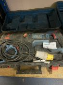 ERBAUER ERS1100 1100W ELECTRIC RECIPROCATING SAW 110V COMES WITH CARRY CASE (UNCHECKED)