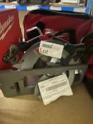 MILWAUKEE M18 CCS66-0 FUEL 190MM 18V LI-ION BRUSHLESS CORDLESS CIRCULAR SAW (UNCHECKED)