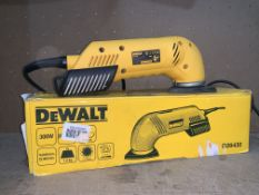 DEWALT D26430-GB 300W ELECTRIC DETAIL SANDER 240V COMES WITH BOX (UNCHECKED)