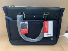 4 X BRAND NEW WENGER LAPTOP BAG ZOE SUITABLE FOR UPTO 39.6CM BLACK RRP £95 EACH