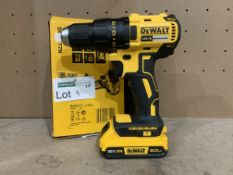 DEWALT DCD777 18V LI-ION XR BRUSHLESS CORDLESS DRILL DRIVER COMES WITH BATTERY (UNCHECKED)