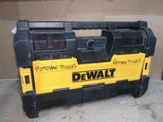 DEWALT DWST1-75663-GB DAB+ / FM ELECTRIC XR BLUETOOTH TOUGHSYSTEM SOUND CENTRE RADIO 240V (