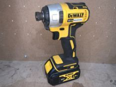 DEWALT DCF787 IMPACT DRIVER TYPE 1 COMES WITH BATTERY (UNCHECKED)