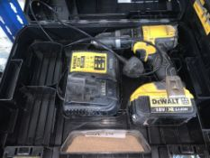 DEWALT DCD785P2T-SFGB 18V 5.0AH LI-ION XR CORDLESS COMBI-HAMMER DRILL COMES WITH 1 BATTERY,