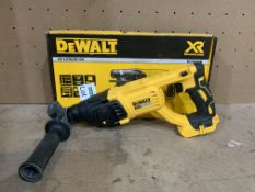 DEWALT 18V XR SDS PLUS HAMMER DRILL COMES WITH BOX (UNCHECKED)