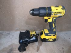 DEWALT DCD778 TYPE 1 DRILL COMES WITH BATTERY AND CHARGER (UNCHECKED)