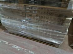 (L151) PALLET TO CONTAIN 20 X NEW BOXED SOAK.COM GLOSS WHITE WOODEN BATH END PANELS