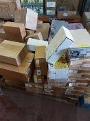 (Q3) PALLET TO CONTAIN CIRCA 35 x NEW BOXED COMPUTER PARTS/COMPONENTS. ORIGINAL RRP VALUE CIRCA £3,