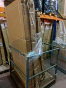 (L145) PALLET TO CONTAIN 7 x NEW BOXED ITEMS TO INCLUDE SHOWER PANELS, TOILET SEAT ETC