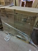 (L147) PALLET TO CONTAIN 8 x NEW BOXED BELFOOT TOILET PANS