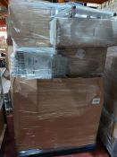 (195) PALLET TO CONTAIN A LARGE QTY OF VARIOUS ITEMS TO INCLUDE CONVECTOR HEATER, TRADITIONAL