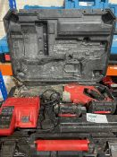 MILWAUKEE M18 BSX-402C 18V 4.0AH LI-ION REDLITHIUM CORDLESS SAWZALL RECIPROCATING SAW COMES WITH 2