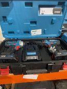 ERBAUER EDD12-LI-2 12V 2.0AH LI-ION CORDLESS TWIN PACK COMES WITH 2 BATTEREIS, CHARGER AND CARRY