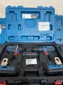 ERBAUER EID18-LI/ECD18-LI-2 18V 4.0AH LI-ION EXT BRUSHLESS CORDLESS COMBI DRILL & IMPACT DRIVER TWIN