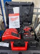 MILWAUKEE M18 CBLPD-402C 18V 4.0AH LI-ION REDLITHIUM BRUSHLESS CORDLESS COMBI DRILL COMES WITH 1