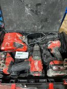 MILWAUKEE M18 FPP2A2-502X FUEL 18V 5.0AH LI-ION REDLITHIUM BRUSHLESS CORDLESS TWIN PACK COMES WITH 2