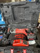MILWAUKEE M18 CHD-402C FUEL 3.5KG 18V 4.0AH LI-ION REDLITHIUM BRUSHLESS CORDLESS SDS PLUS DRILL