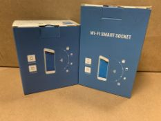 14 X BRAND NEW WIFI SMART SOCKETS