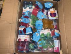 APPROX 75 ASSORTED BABY FEEDING PRODUCTS