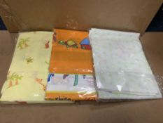 50 X ASSORTED BRAND NEW CHILDRENS QUILT COVERS