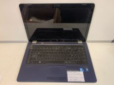 HP G62 LAPTOP, INTEL CORE i3, 2.27GHZ, WINDOWS 10, 320GB HARD DRIVE WITH CHARGER, 15.6 INCH SCREEN