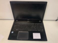ACER TRAVELMATE P259 LAPTOP, INTEL CORE i3-62009, 2.3GHZ, WINDOWS 10 PRO, 320GB HARD DRIVE WITH