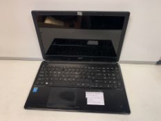 ACER E1-572 LAPTOP, INTEL CORE i5-420011, 750GB HDD WITH CHARGER