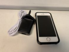 APPLE IPHONE, 16GB STORAGE WITH CASE AND CHARGER