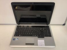 SAMSUNG RV510 LAPTOP, WINDOWS 10, 250GB HARD DRIVE WITH CHARGER