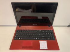 PACKARD BELL PEW91 LAPTOP, INTEL CORE i3, 2.53GHZ, 320GB HARD DRIVE, WINDOWS 10 WITH CHARGER