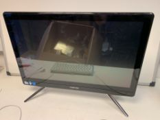 SAMSUNG 500E ALL IN ONE PC, 21.5 INCH TOUCHSCREEN, WINDOWS10, 500GB HARD DRIVE WITH KEYBOARD AND