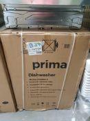 PRIMA PRDW210 BI FI 60CM D/WASH STST