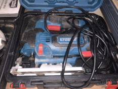 ERBAUER EJS750 750W ELECTRIC JIGSAW 220-240V COMES WITH CARRY CASE (UNCHECKED) (106/20)