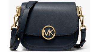 BRAND NEW MICAHEL KORS LILLIE ADMIRAL SM SADDLE CROSSBODY LEATHER RRP £230 (19126)