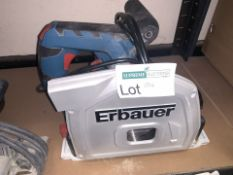 ERBAUER ERB690CSW 185MM ELECTRIC PLUNGE SAW 240V (UNCHECKED) (94/20)