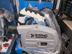 MAC ALLISTER MSPS1200 165MM ELECTRIC PLUNGE SAW 220-240V COMES WITH BOX (UNCHECKED)(121/20)