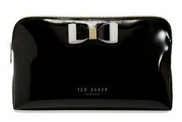 BRAND NEW TED BAKER SOFT PVC LARGE WASHBAG BLACK RRP £35 (3766/8)