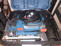 ERBAUER EJS750 750W ELECTRIC JIGSAW 220-240V COMES WITH CARRY CASE (UNCHECKED) (88/20)